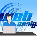 web, design, web design